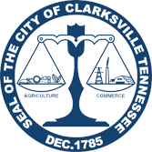 Seal of the City of Clarksville Tennessee December 1785