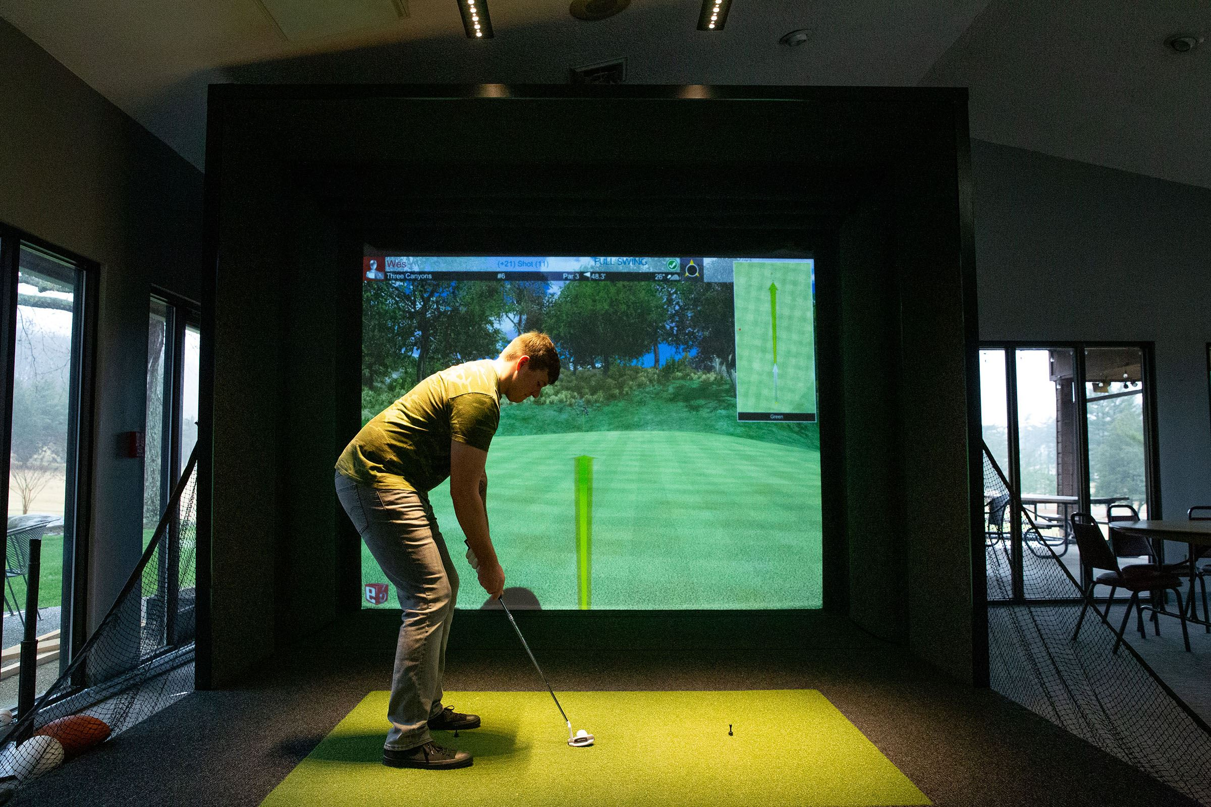 Swan Lake Golf Simulator